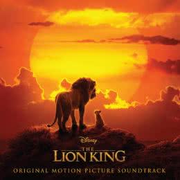 Обложка к диску с музыкой из мультфильма «Король Лев»