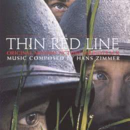 Обложка к диску с музыкой из фильма «Тонкая красная линия»