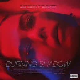 Обложка к диску с музыкой из фильма «Горящая тень»