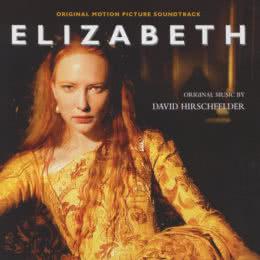 Обложка к диску с музыкой из фильма «Елизавета»