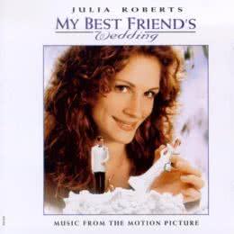 Обложка к диску с музыкой из фильма «Свадьба лучшего друга»