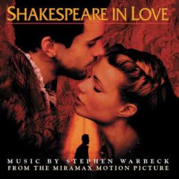 Обложка к диску с музыкой из фильма «Влюбленный Шекспир»