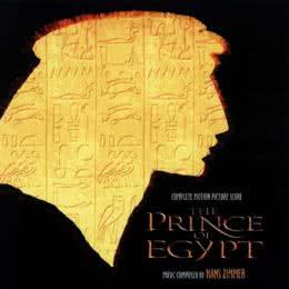 Обложка к диску с музыкой из мультфильма «Принц Египта»