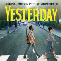 Обложка к диску с музыкой из фильма «Вчера»