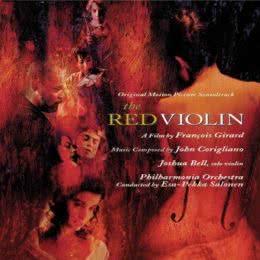 Обложка к диску с музыкой из фильма «Красная скрипка»