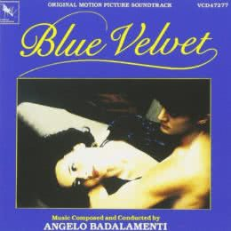 Обложка к диску с музыкой из фильма «Синий бархат»