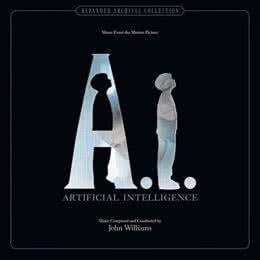 Обложка к диску с музыкой из фильма «Искусственный разум»