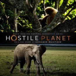 Обложка к диску с музыкой из сериала «Враждебная планета (Volume 2)»