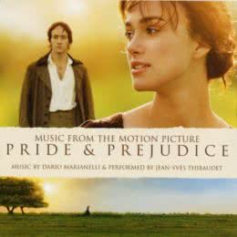 Обложка к диску с музыкой из фильма «Гордость и предубеждение»