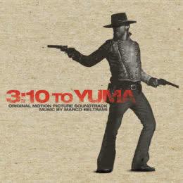 Обложка к диску с музыкой из фильма «Поезд на Юму»
