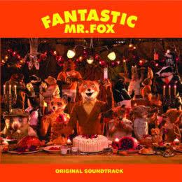 Обложка к диску с музыкой из мультфильма «Бесподобный мистер Фокс»