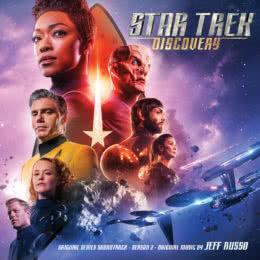 Обложка к диску с музыкой из сериала «Звёздный путь: Дискавери (2 сезон)»