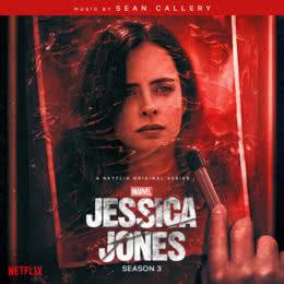 Обложка к диску с музыкой из сериала «Джессика Джонс (3 сезон)»