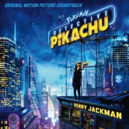 Обложка к диску с музыкой из фильма «Покемон. Детектив Пикачу»