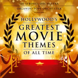 Обложка к диску с музыкой из сборника «Hollywood's Greatest Movie Themes of All Time»