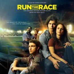 Обложка к диску с музыкой из фильма «Беги в этой гонке»