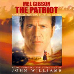 Обложка к диску с музыкой из фильма «Патриот»