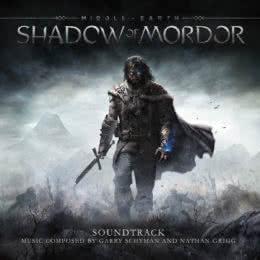 Обложка к диску с музыкой из игры «Middle-earth: Shadow of Mordor»