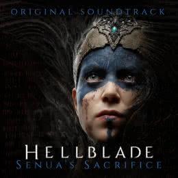 Обложка к диску с музыкой из игры «Hellblade: Senua's Sacrifice»