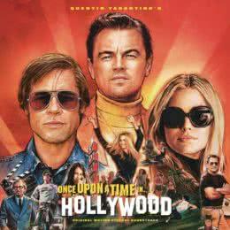 Обложка к диску с музыкой из фильма «Однажды в Голливуде»