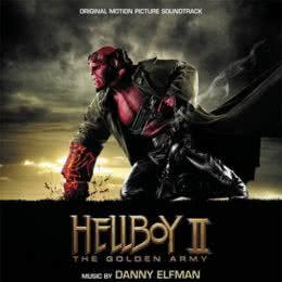 Обложка к диску с музыкой из фильма «Хеллбой 2: Золотая армия»
