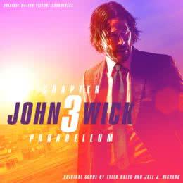 Обложка к диску с музыкой из фильма «Джон Уик 3»