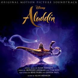 Обложка к диску с музыкой из фильма «Аладдин»