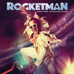 Обложка к диску с музыкой из фильма «Рокетмен»