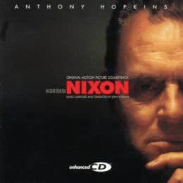 Обложка к диску с музыкой из фильма «Никсон»