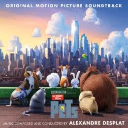 Обложка к диску с музыкой из мультфильма «Тайная жизнь домашних животных»