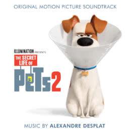 Обложка к диску с музыкой из мультфильма «Тайная жизнь домашних животных 2»