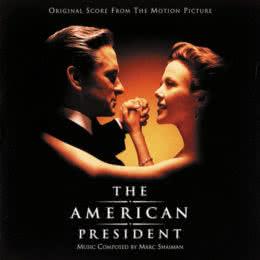 Обложка к диску с музыкой из фильма «Американский президент»