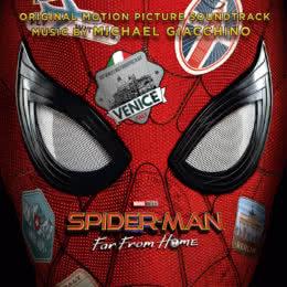 Обложка к диску с музыкой из фильма «Человек-паук: Вдали от дома»