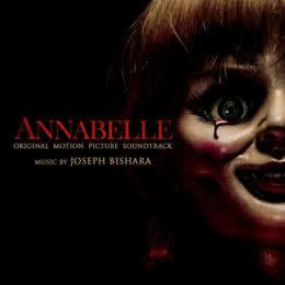 Обложка к диску с музыкой из фильма «Проклятие Аннабель»