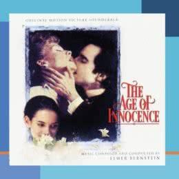 Обложка к диску с музыкой из фильма «Эпоха невинности»