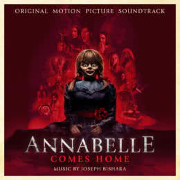 Обложка к диску с музыкой из фильма «Проклятие Аннабель 3»