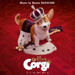 Обложка к диску с музыкой из мультфильма «Королевский корги»