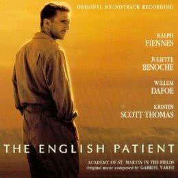Обложка к диску с музыкой из фильма «Английский пациент»