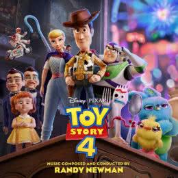 Обложка к диску с музыкой из мультфильма «История игрушек 4»