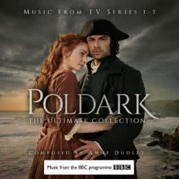 Обложка к диску с музыкой из сериала «Полдарк (1-5 сезон)»