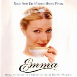 Обложка к диску с музыкой из фильма «Эмма»