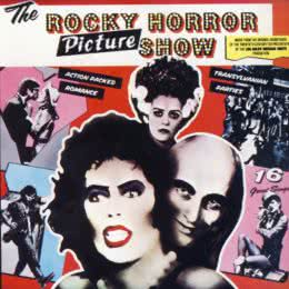Обложка к диску с музыкой из фильма «Шоу ужасов Рокки Хоррора»