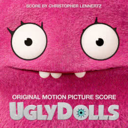 Обложка к диску с музыкой из мультфильма «UglyDolls. Куклы с характером»