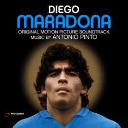 Обложка к диску с музыкой из фильма «Диего Марадона»