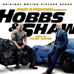 Обложка к диску с музыкой из фильма «Форсаж: Хоббс и Шоу»