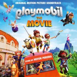 Обложка к диску с музыкой из мультфильма «Playmobil фильм: Через вселенные»