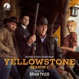 Обложка к диску с музыкой из сериала «Йеллоустоун (2 сезон)»