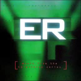 Обложка к диску с музыкой из сериала «Скорая помощь»