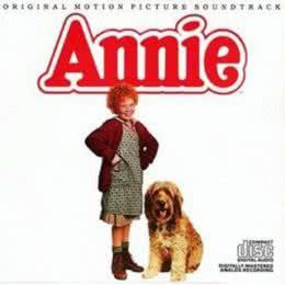 Обложка к диску с музыкой из фильма «Энни»
