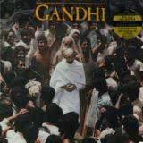 Маленькая обложка диска c музыкой из фильма «Ганди»